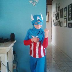 American Kids Superhero Costume