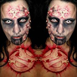 Ghostbusters Halloween Makeup