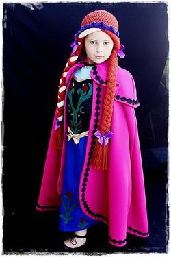 Anna Frozen Kids Costume