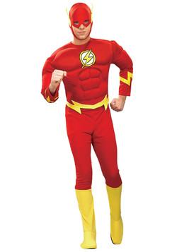 Deluxe Flash Costume Adult