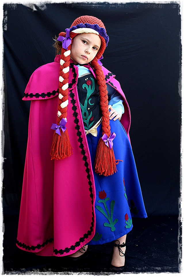 Anna Frozen Kids Costume