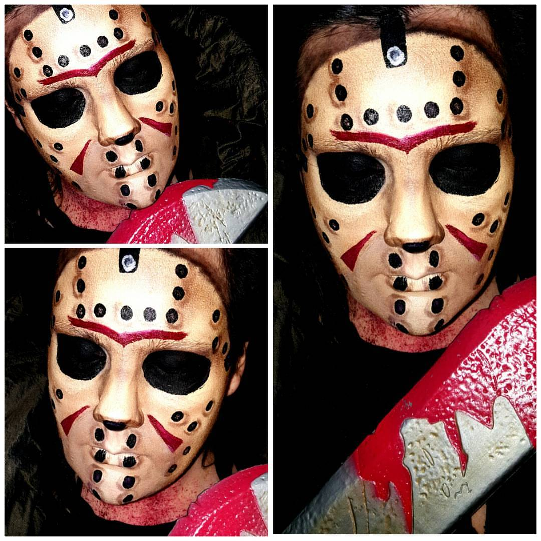 Jason Halloween Makeup