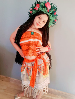 Moana Kids Costume