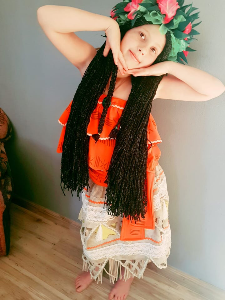 Moana Kids Costume