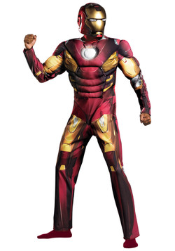 Avengers Adult Iron Man Costume