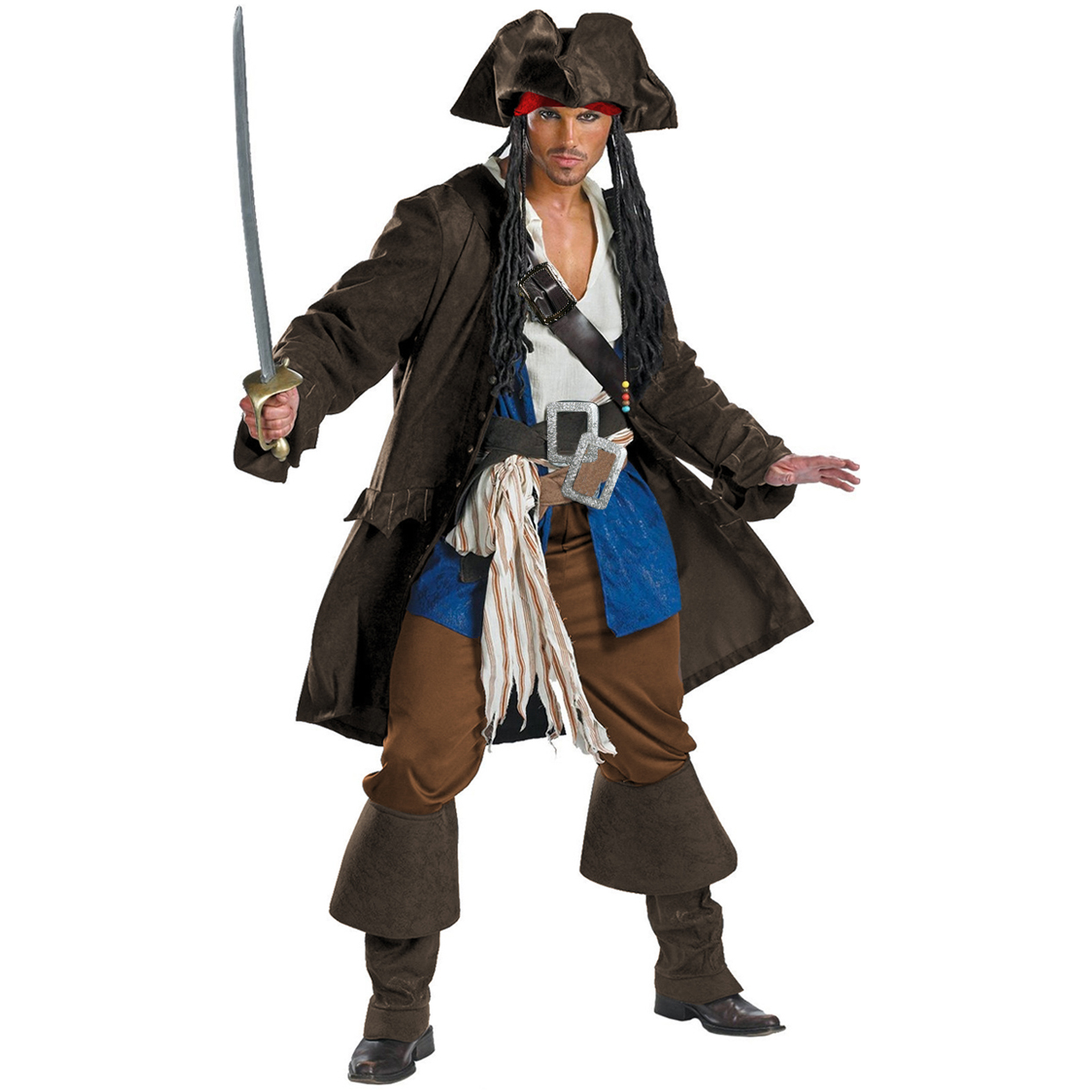 High Seas Jack Sparrow Costume