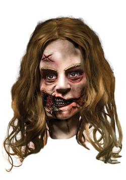 Little Girl Walking Dead Mask