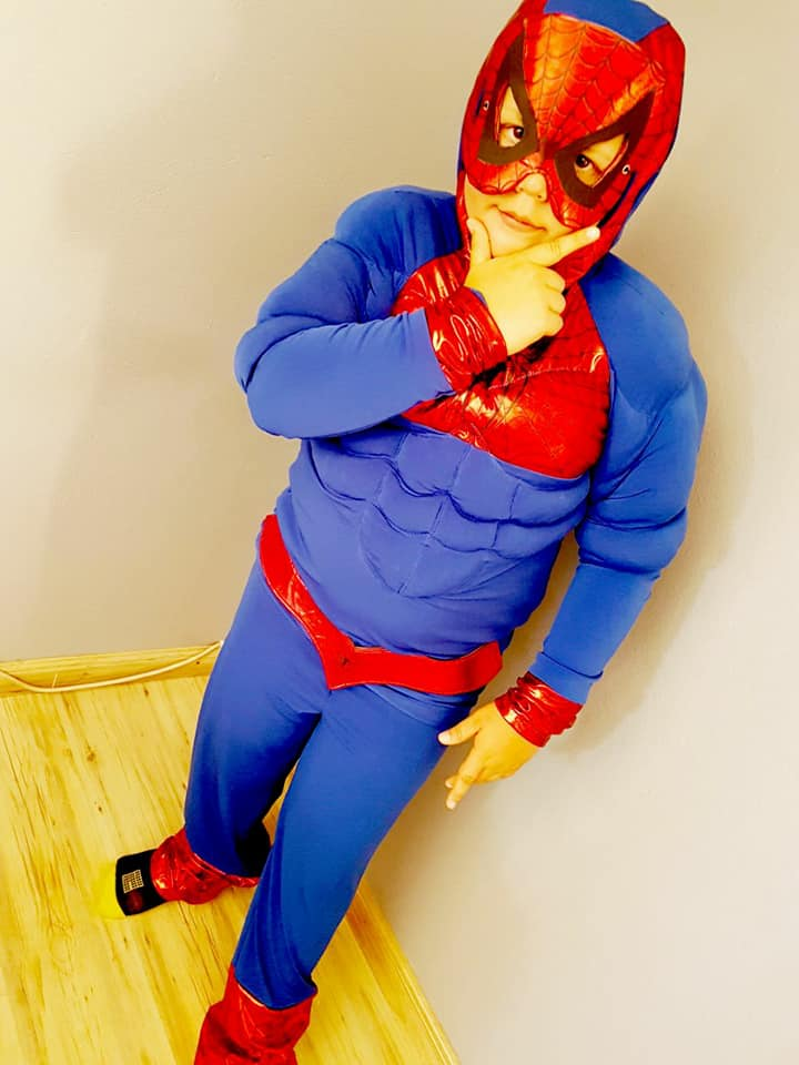 Little Mr. Spider Man Kids Costume
