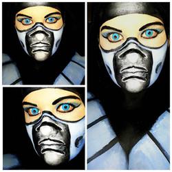 Mortal Kombat Halloween Makeup