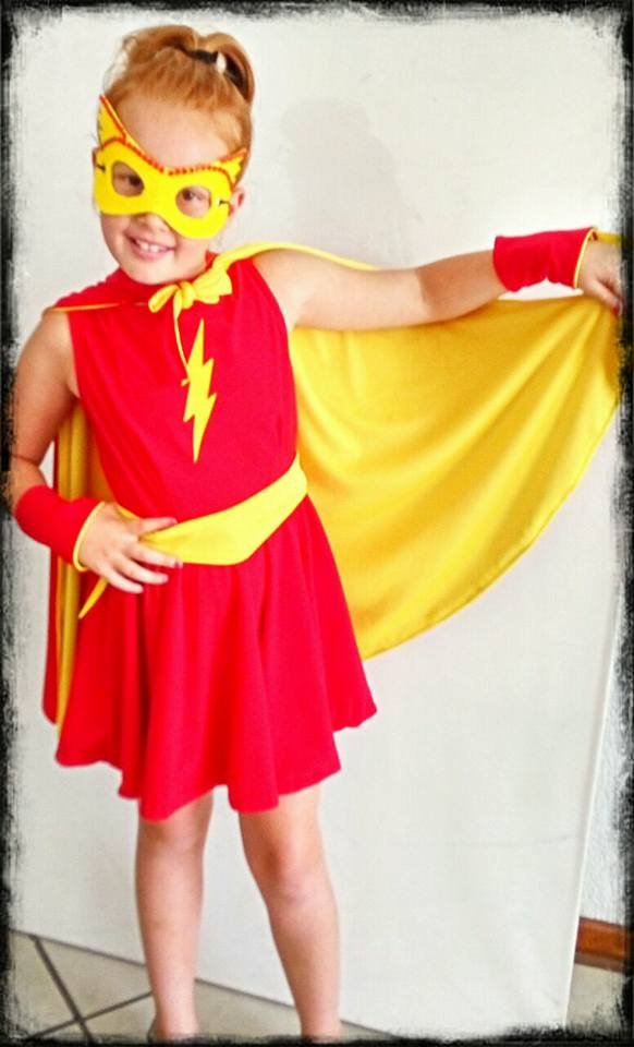 Kids Little Miss Flash Costume