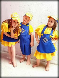 Minions Kids Costume