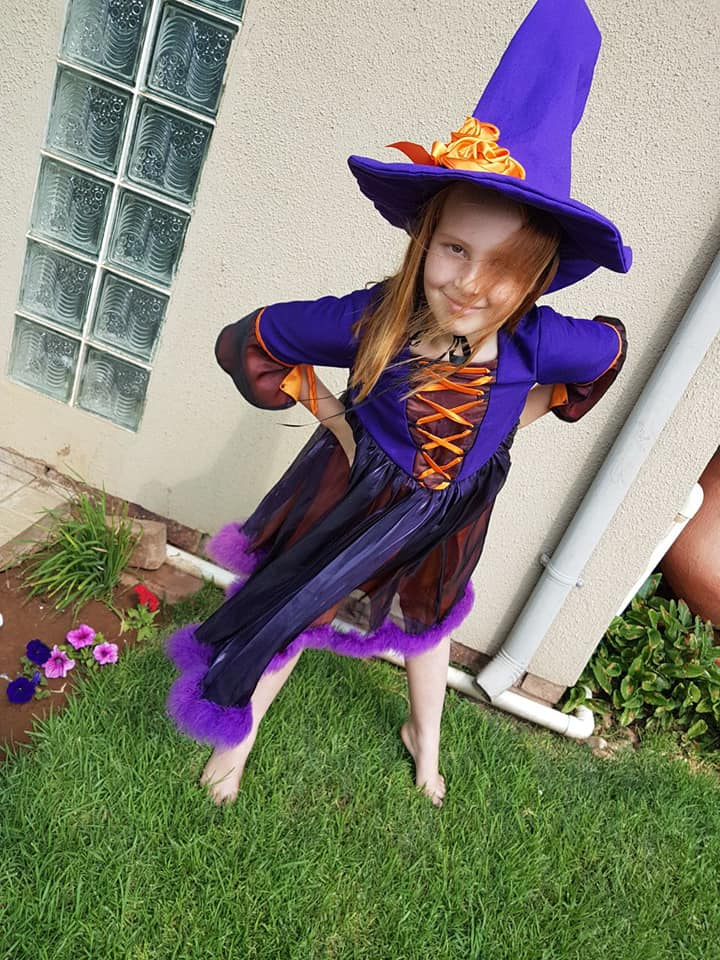 Witch Kids Halloween Costume