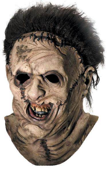 Deluxe Leatherface Mask Costume