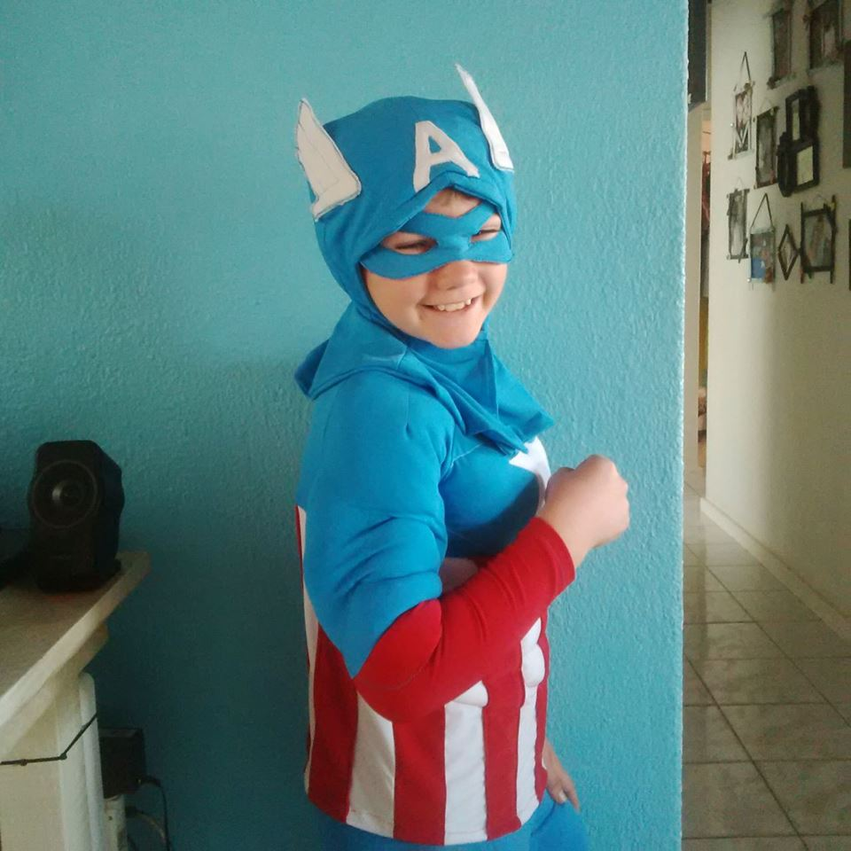 American Kids Superhero Costume