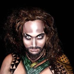 Aquaman Halloween Face Paint
