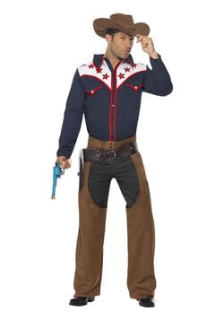 Mens Rodeo Cowboy Costume