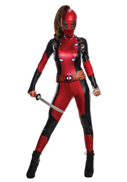 Female Deadpool Costume