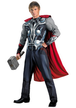 Plus size Avengers Thor Costume