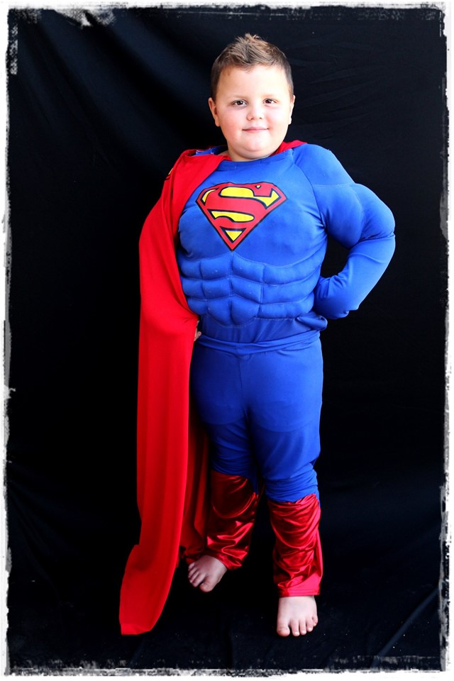 Superman Kids Costume
