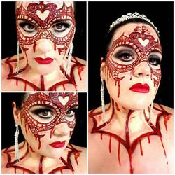 Bloody Halloween Makeup