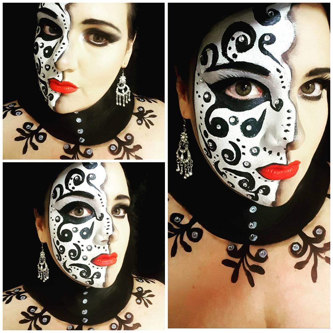 Victorian Halloween Makeup