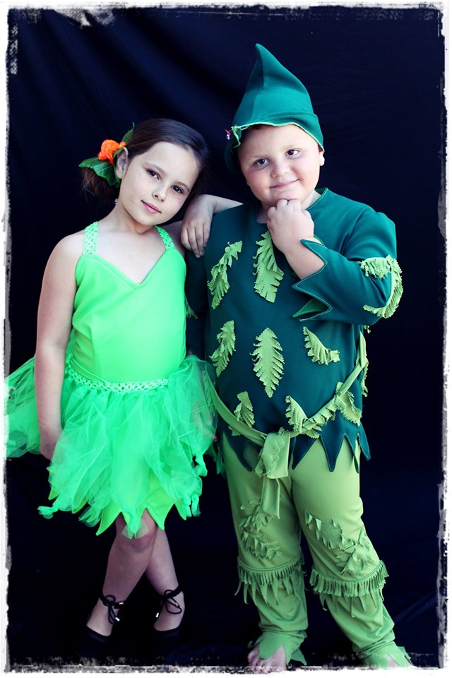 Peter Pan & Tinkerbell Kids Costume