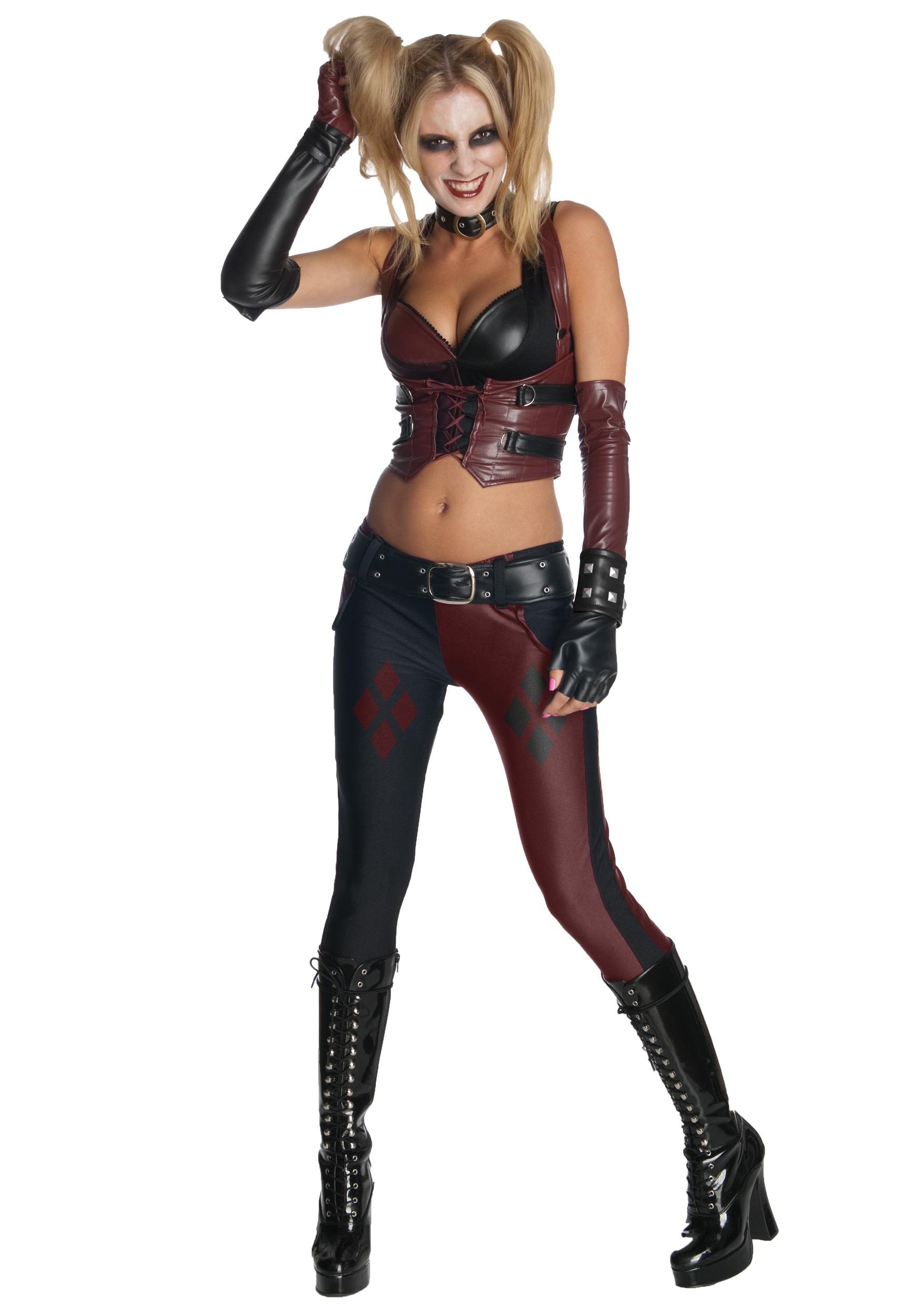 Arkham City Harley-Quinn Costume
