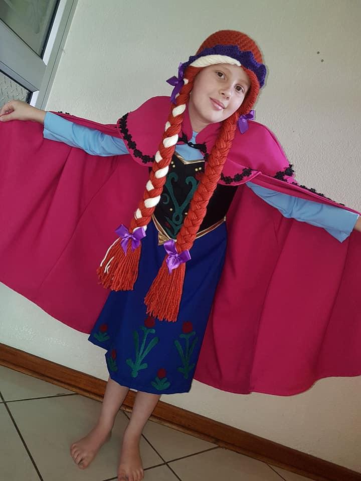Anna Kids Costume