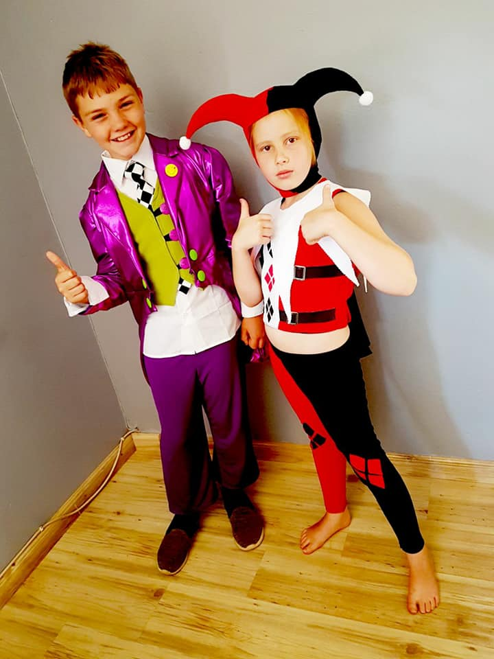 Joker and Harley Kids Costume