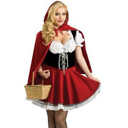 Sultry Red Riding Hood Costume