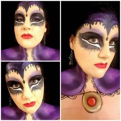Disney Villain Halloween Makeup