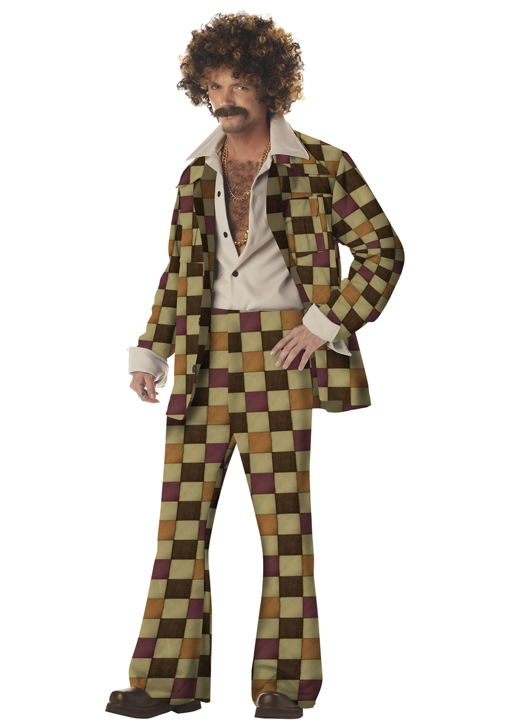 Men's Disco Leisure 70's Costume