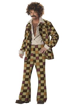 Men's Disco Leisure 70's Costume