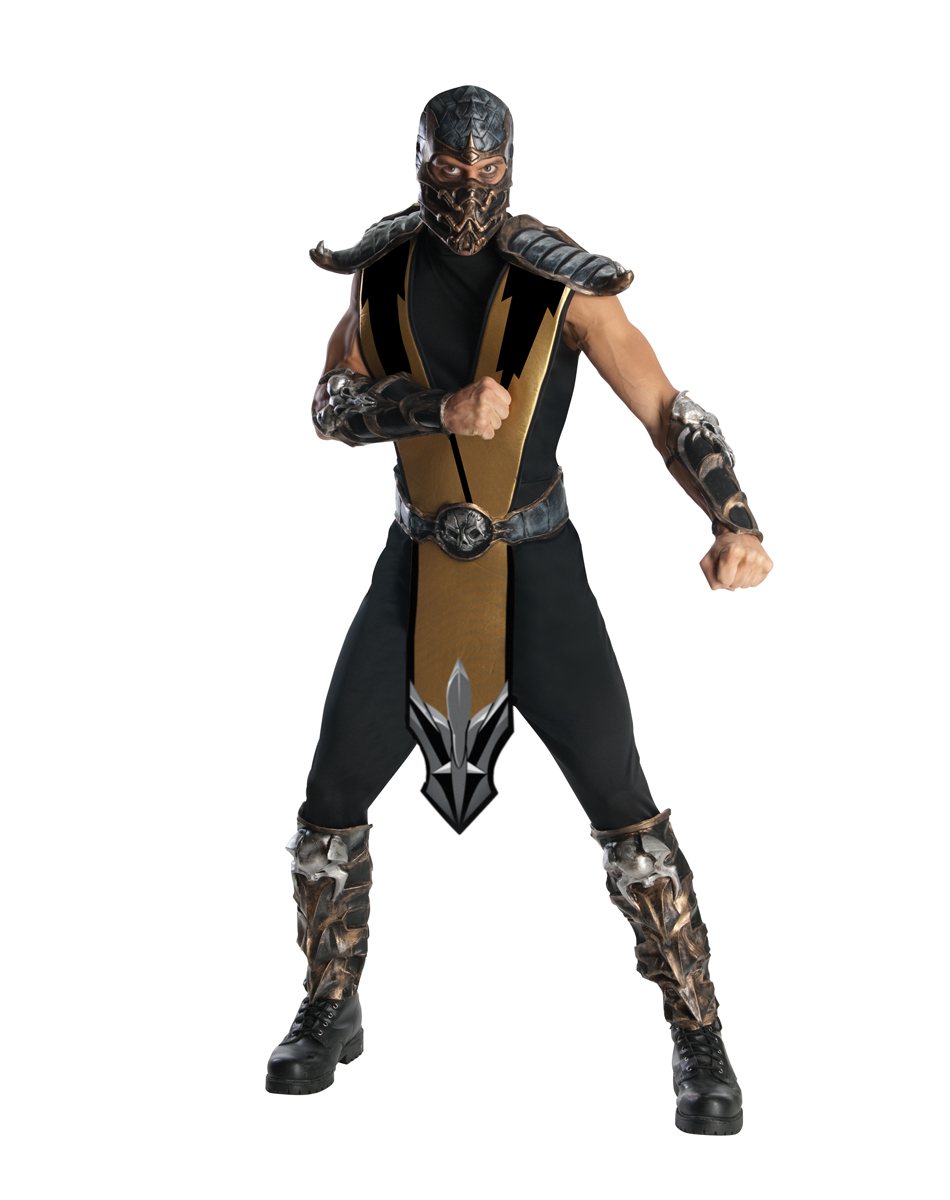 Mortal Combat Scorpion Costume