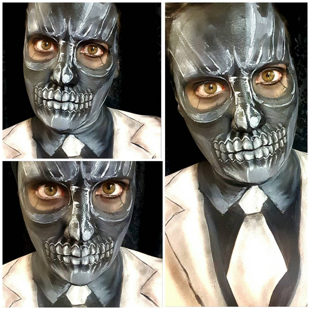 Skeleton Halloween Makeup