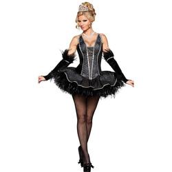 Deluxe Seductive Black Swan Costume