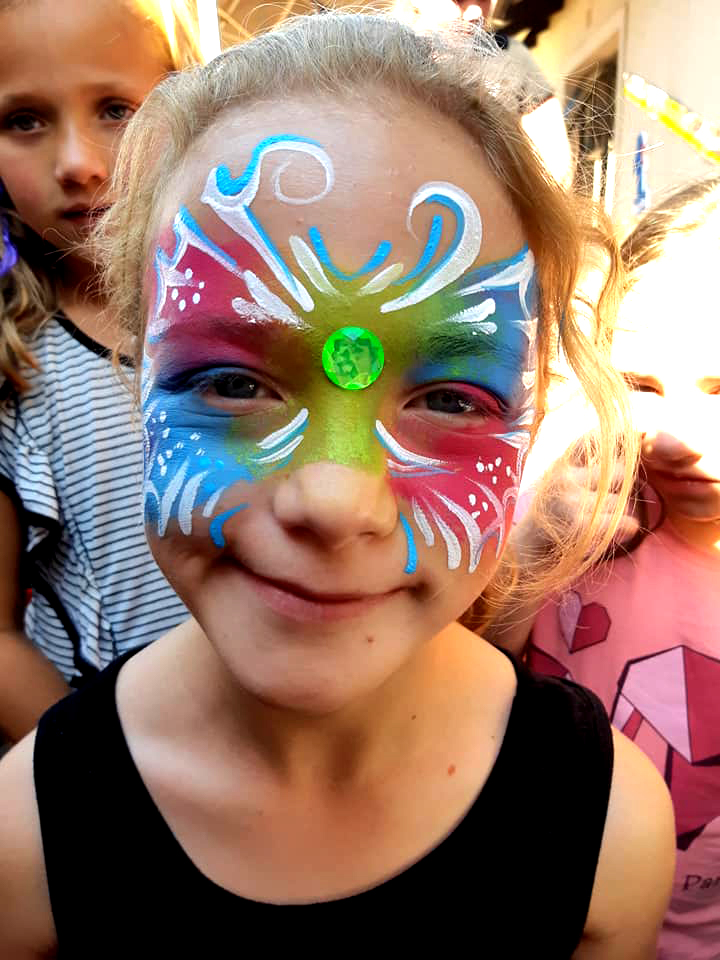 Lumo Butterfly Mask Face Paint