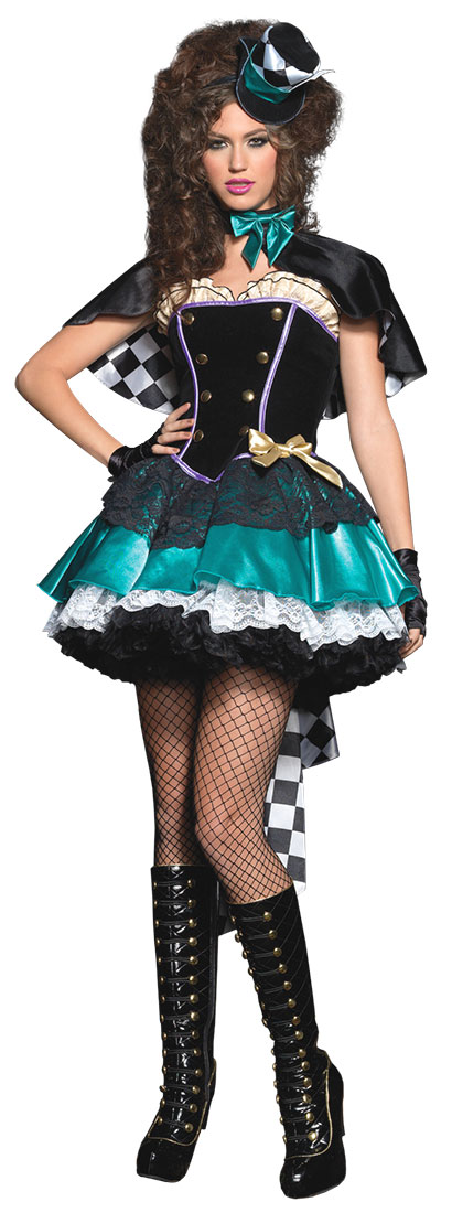 Tea Time Mad Hatter Costume