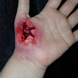 Cut Hand Special Effects Makeup