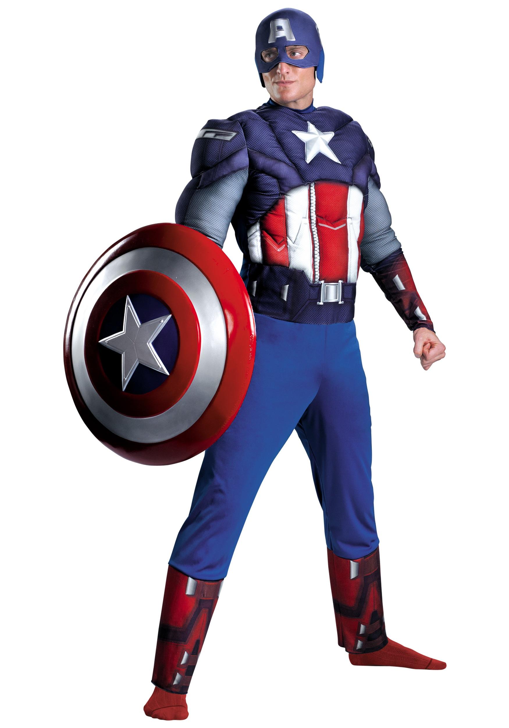 Avengers Captain America Costume