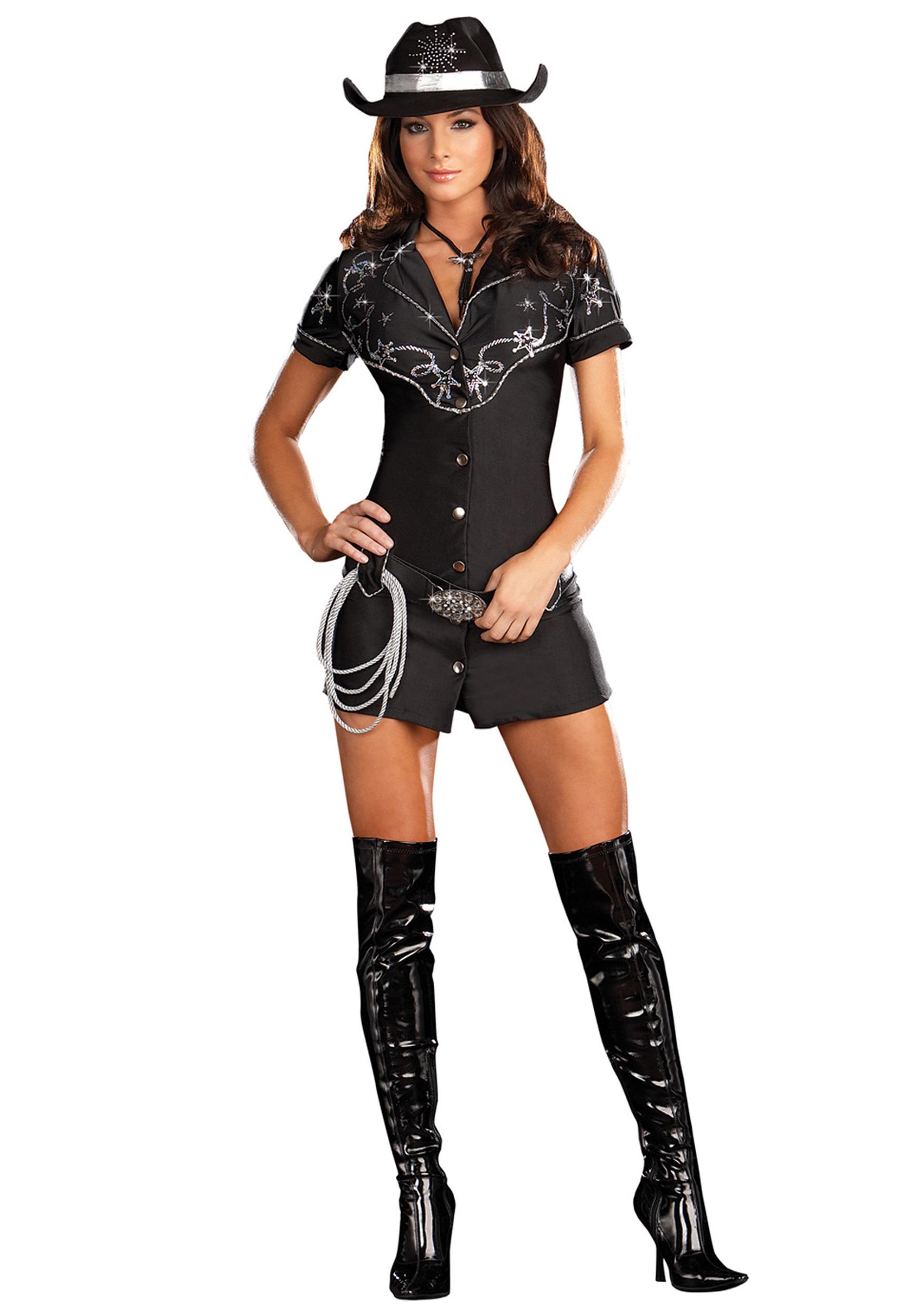 Rhinestone Cowgirl Female Cowboy Cos