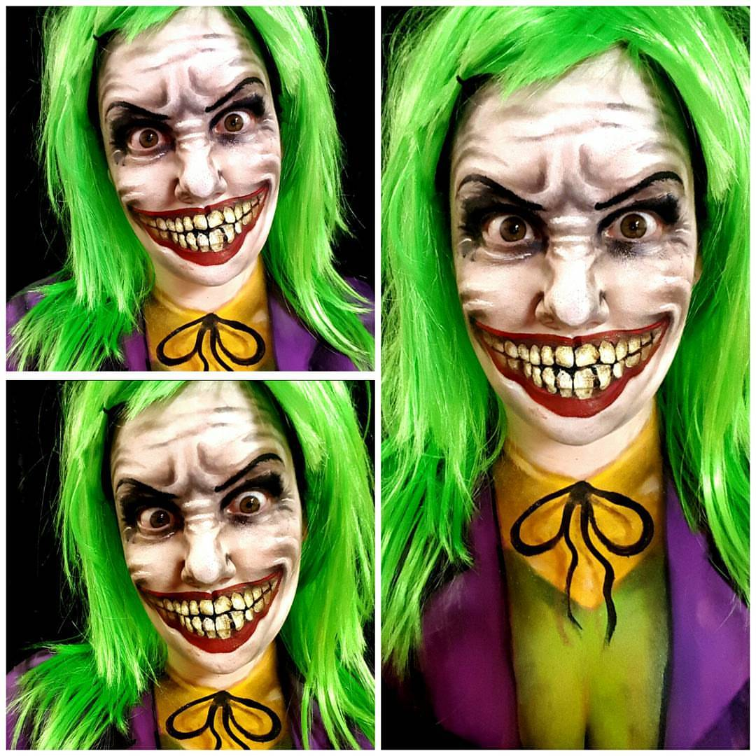 Joker Halloween Makeup