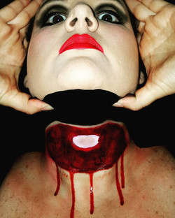 Severed Head Halloween Makeup