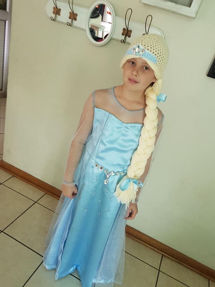 Elsa Kids Costume