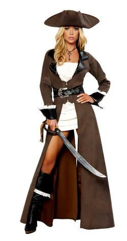 Deluxe Pirate Captian Costume