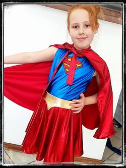 Supergirl Kids Costume