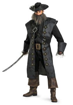 Deluxe Adult Blackbeard Costume