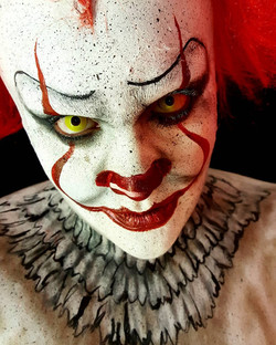 Pennywise Halloween Face Paint