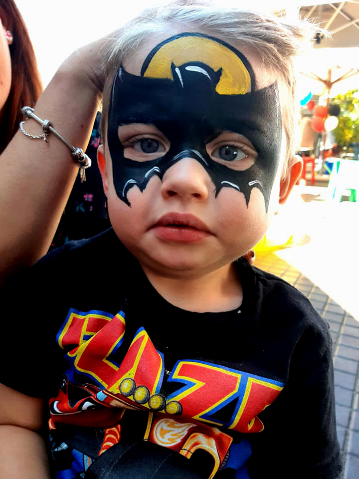 Batman Small Boys Face Paint