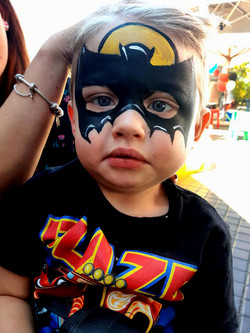 Batman Small Boys Face Paint